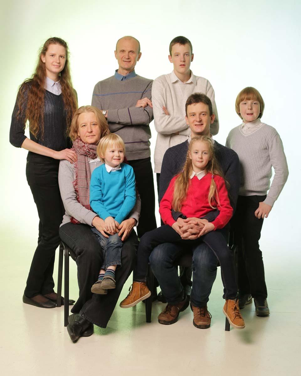 Большая семья Алексея ГРИЩЕНКО