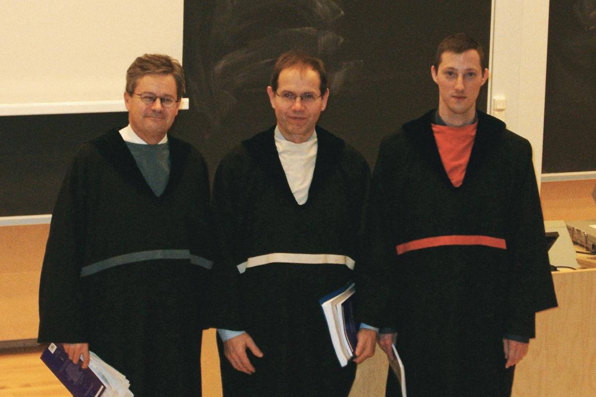 Максим Фролов получил PhD в University of Jyväskylä, 2004