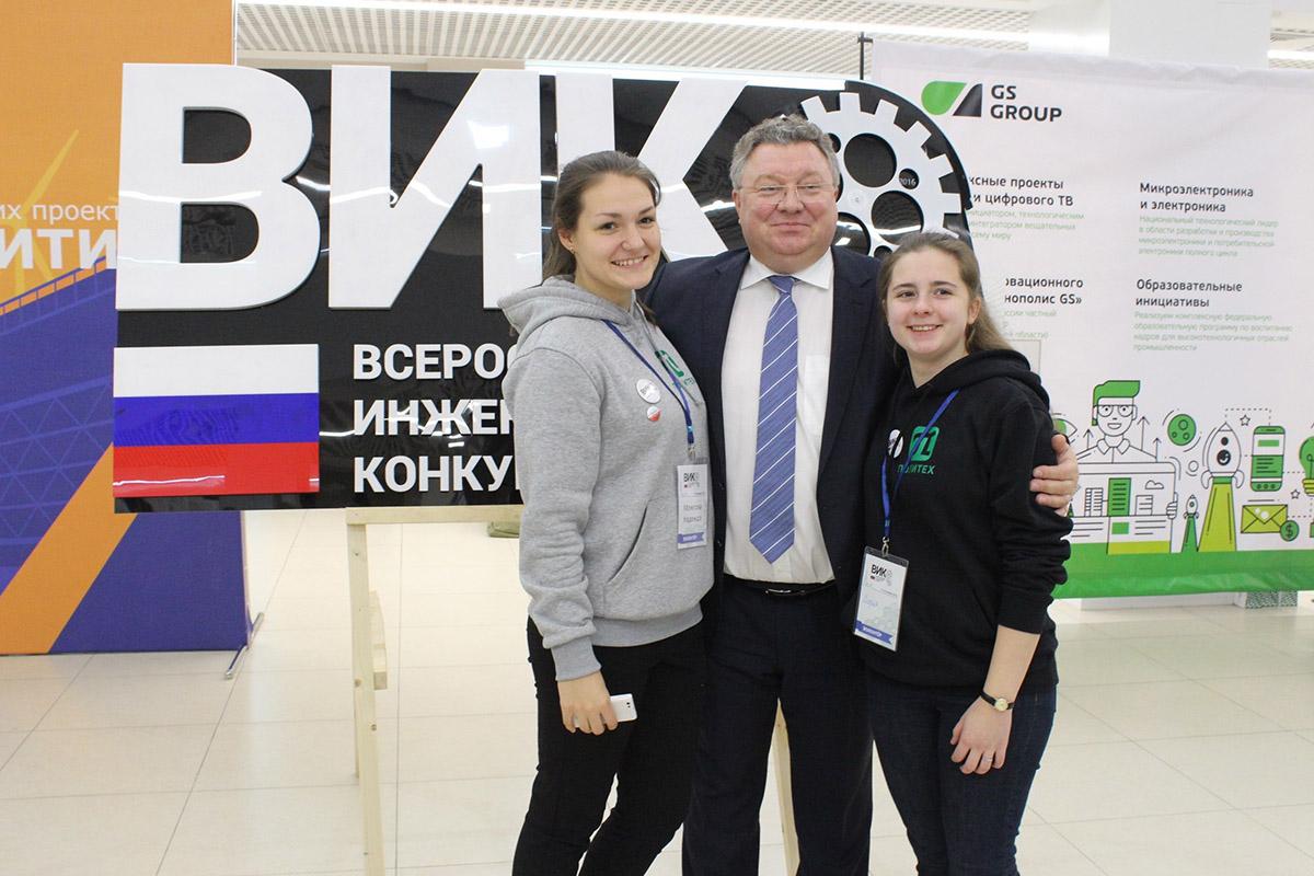С поддержкой ректора Политеха Андрея Рудского