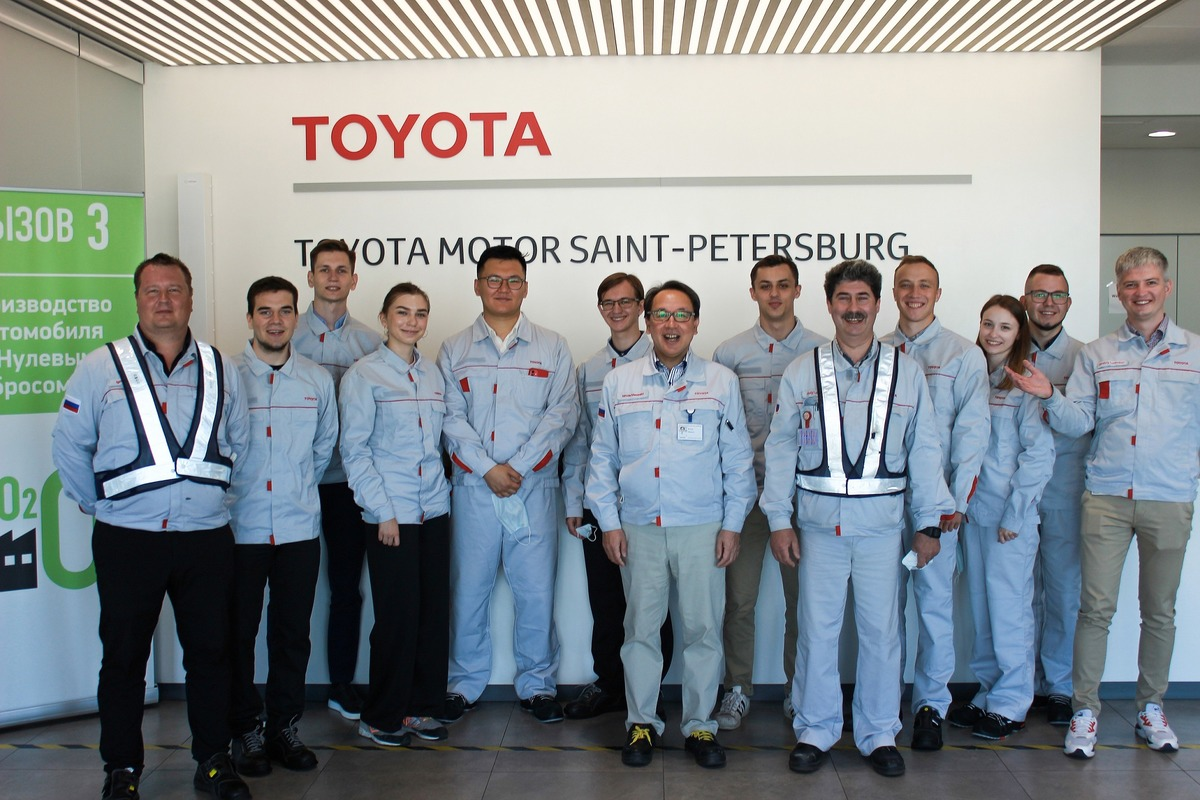 [«Тойота Мотор» делится опытом со студентами Политеха в рамках реализации национального проекта «Производительность труда»