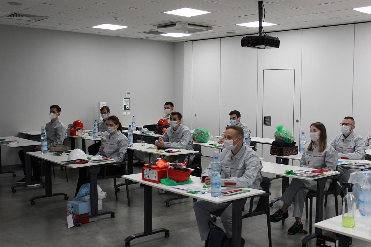 В 2021 году в совместной стажировке Тойота и РЦК принимают участие 13 студентов Политеха
