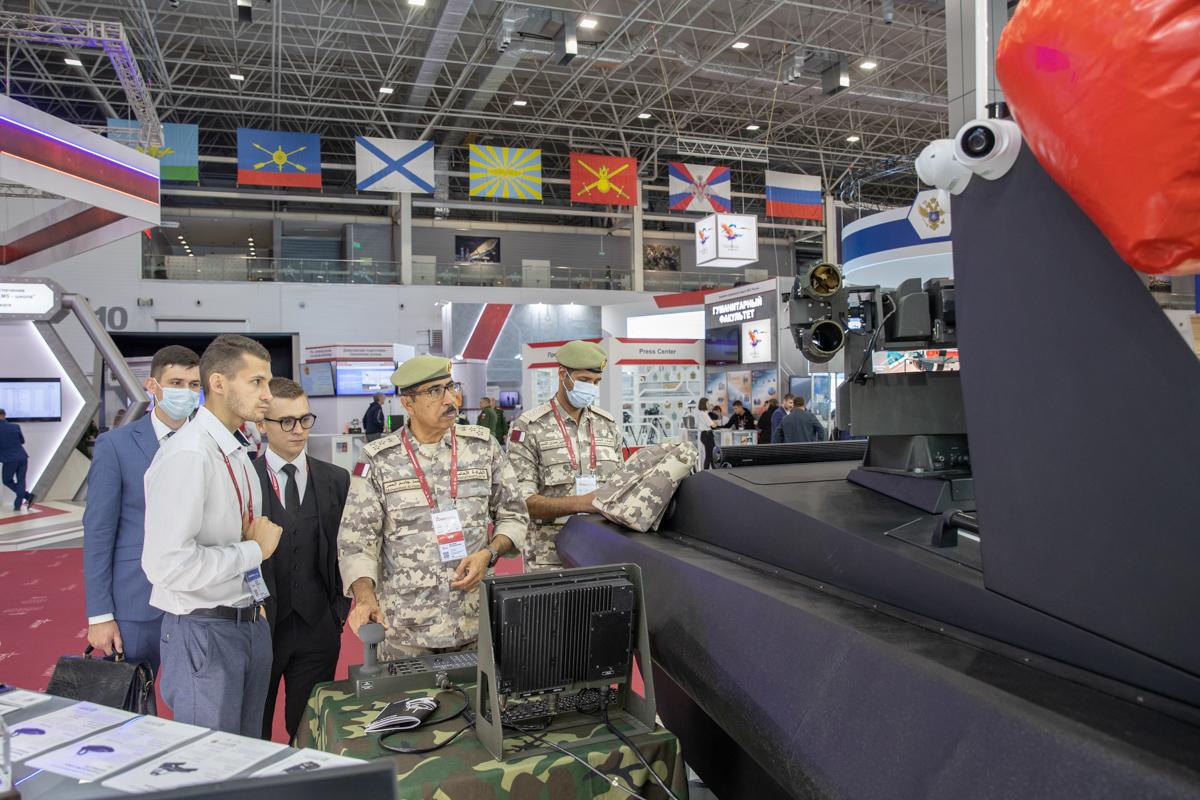 Политех продемонстрировал на форуме «Армия-2021» разработки двойного назначения