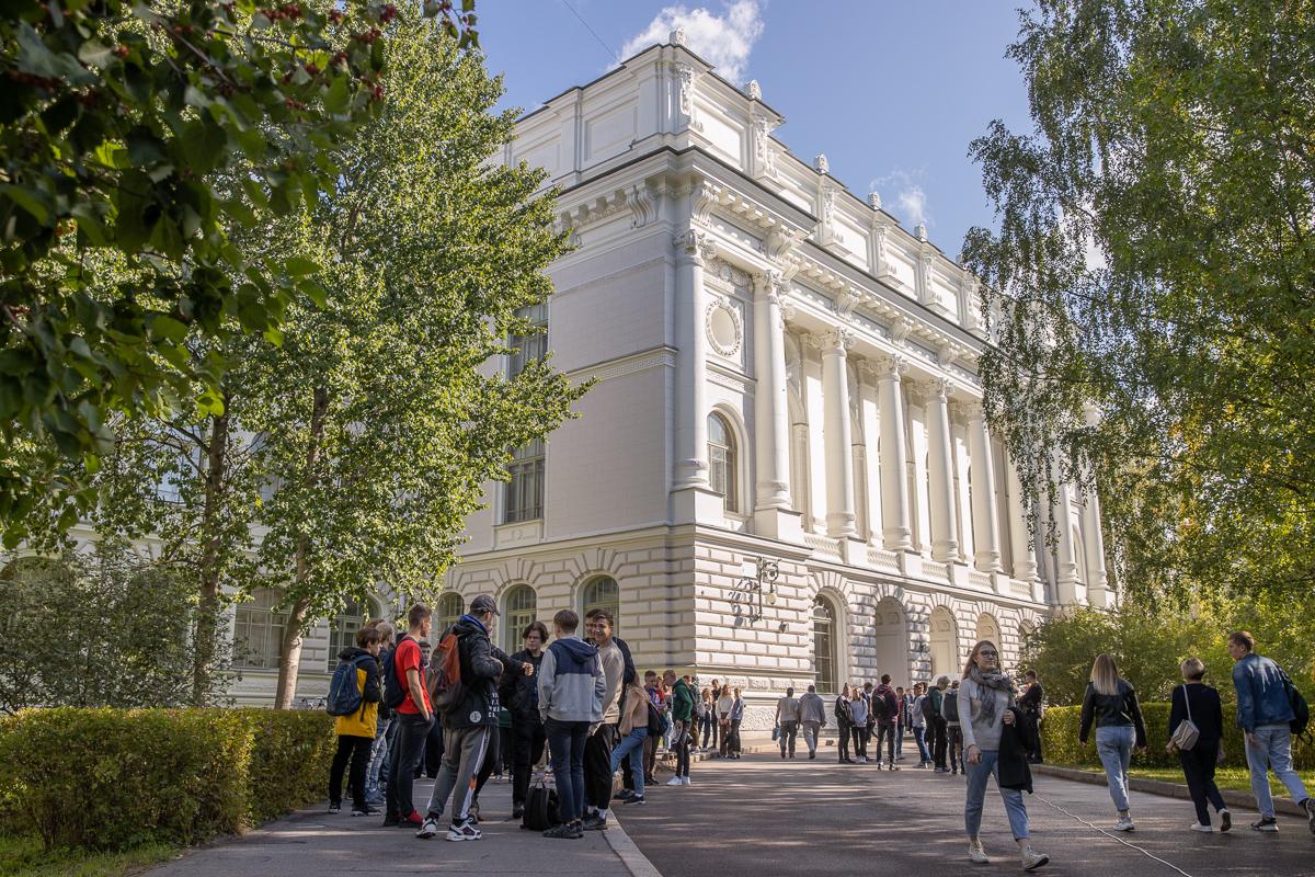 День знаний в Санкт-Петербургском политехническом университете