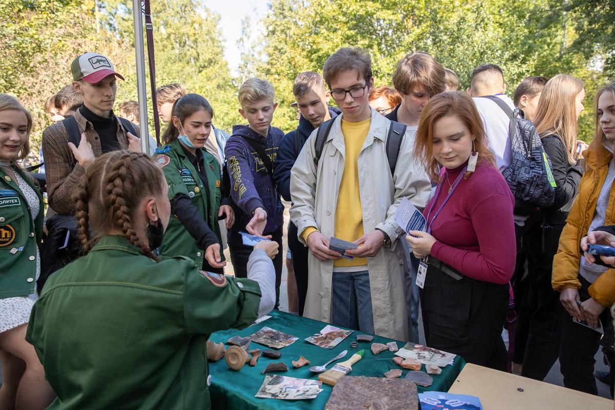 В зоне «Work and travel по-русски» было представлено археологическое направление
