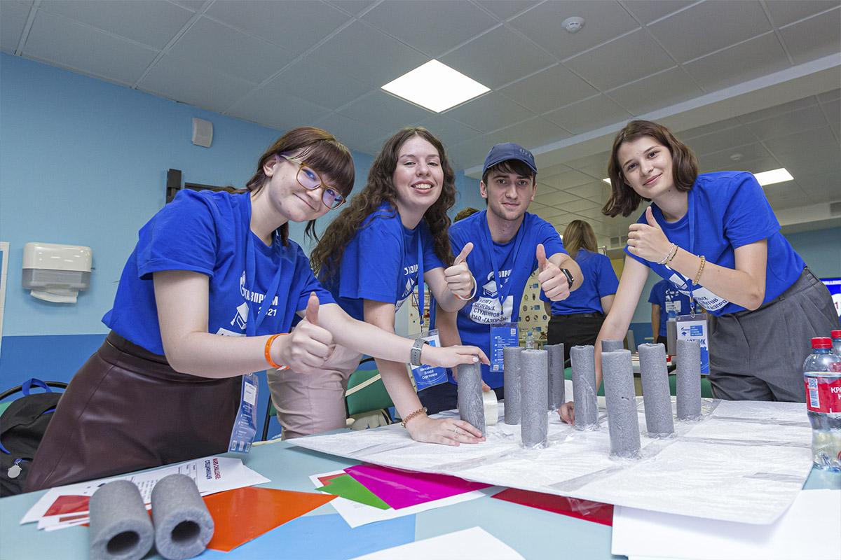 Студенты Политеха участвовали в I слете ПАО «Газпром»
