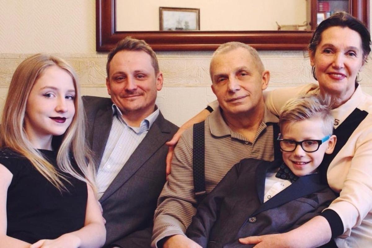 Семья Лимоновых-Дьяковых