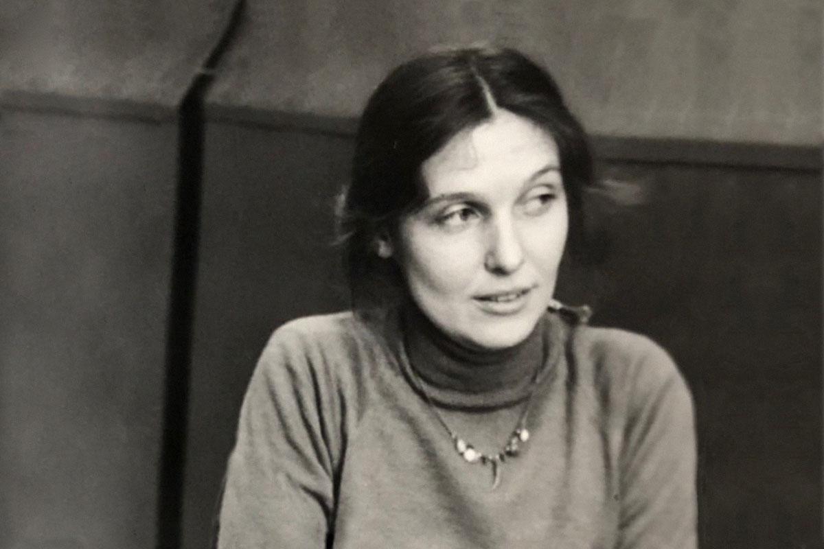 Анна Феликсовна на работе в ГОИ