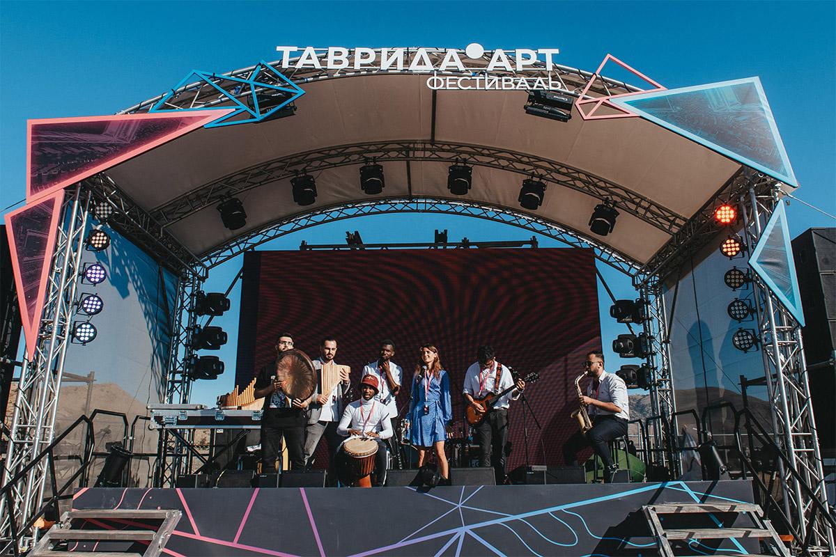 Политехники приняли участие в фестивале «Таврида.АРТ»