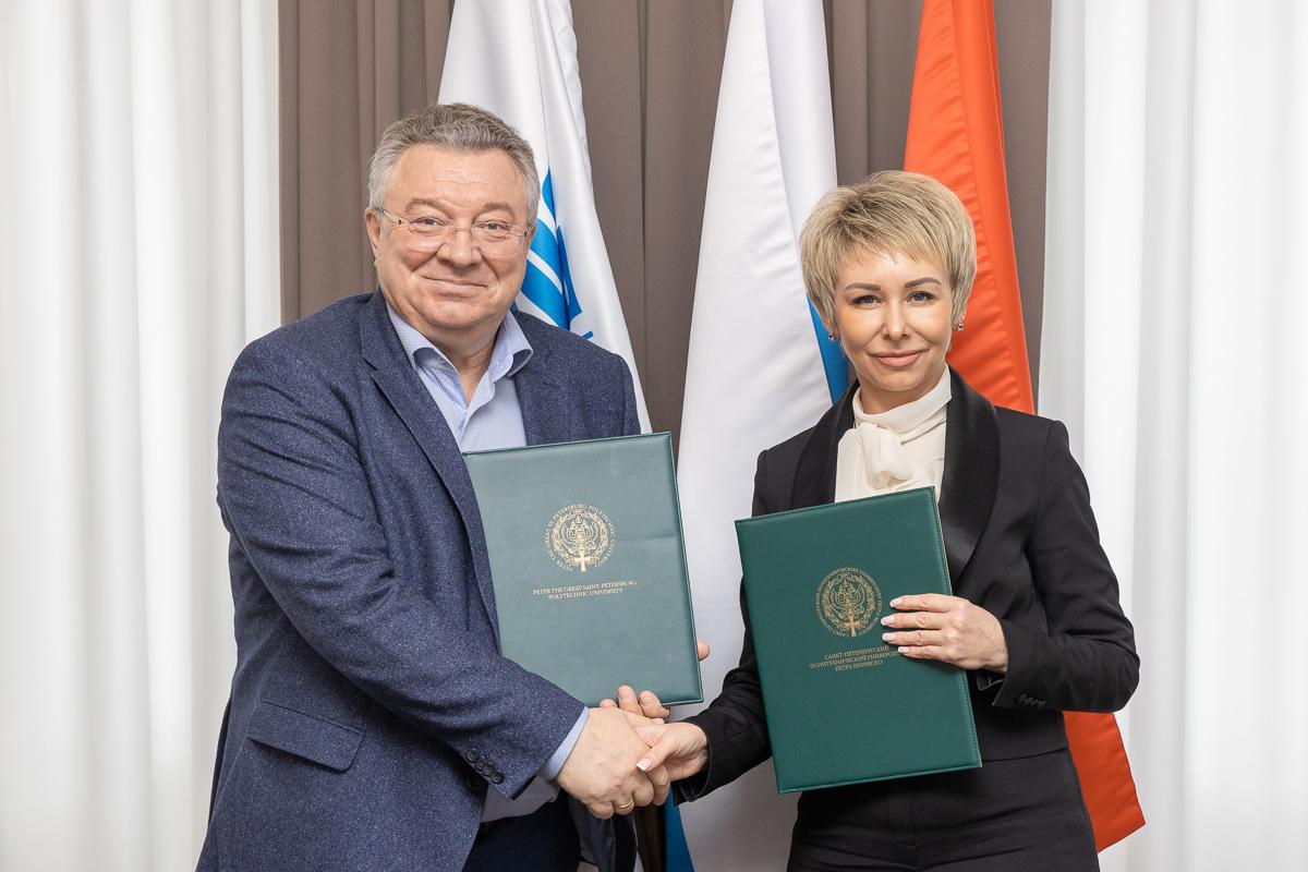 Политехнический университет, опорный вуз глобальной энергетической компании, и «Газпром школа Санкт-Петербург» заключили соглашение о сотрудничестве