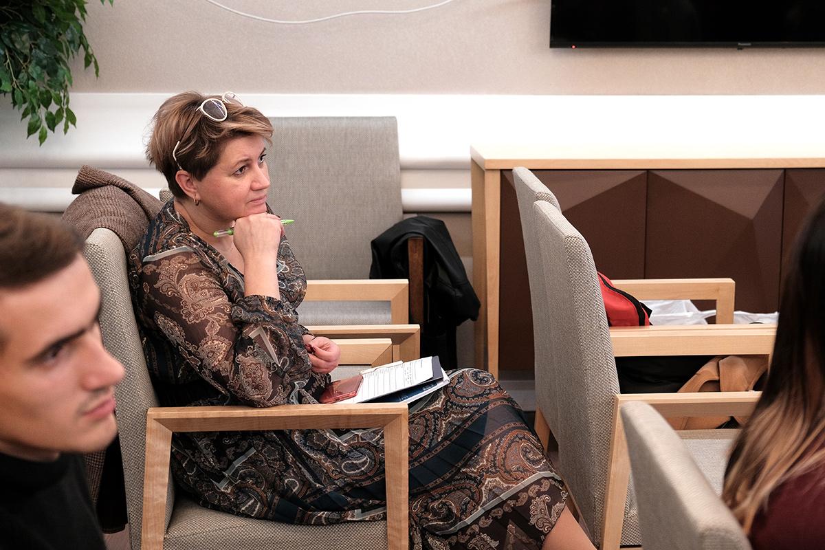 Ольга НОВИКОВА, член жюри конкурса, исполнительный директор Фонда целевого капитала развития СПбПУ отметила, что Фонд заинтересован в развитии этого конкурса