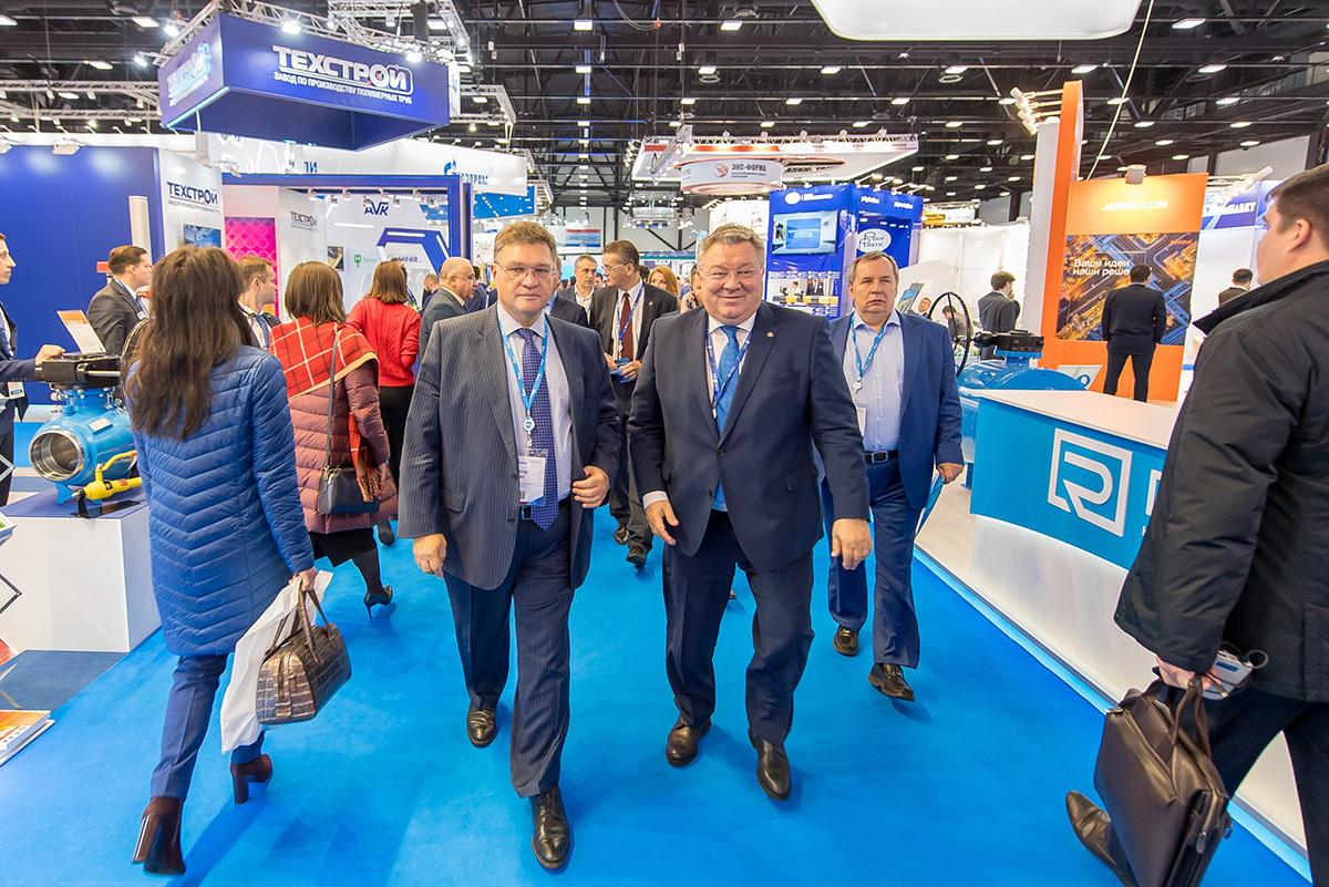 Андрей Рудской принял участие в работе IX Петербургского международного газового форума