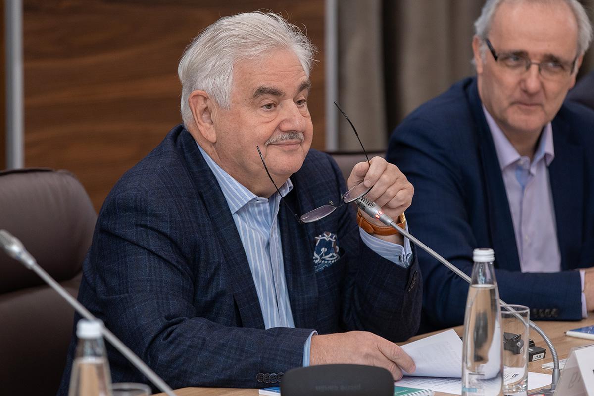 Председатель Международного научного совета СПбПУ Леонид ВАЙСБЕРГ