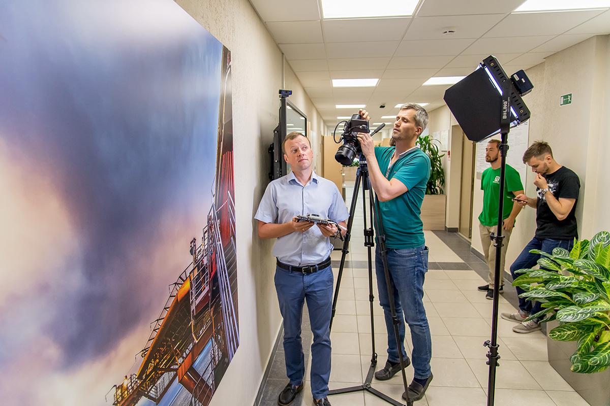 Участники съёмочного процесса