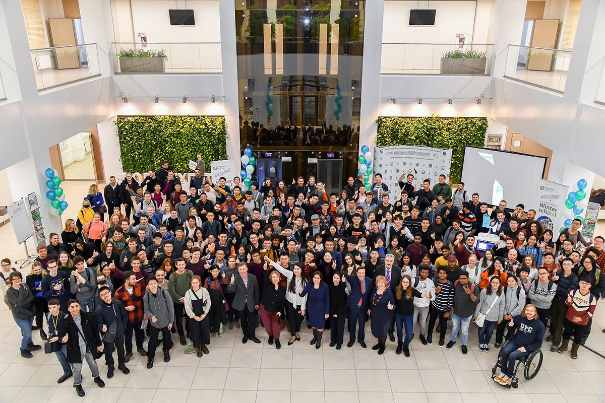 Международная зимняя школа Политеха собрала 300 участников со всего мира