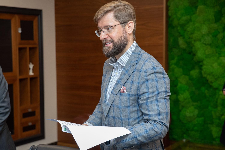Замминистра науки и высшего образования Алексей МЕДВЕДЕВ провел в СПбПУ рабочую встречу