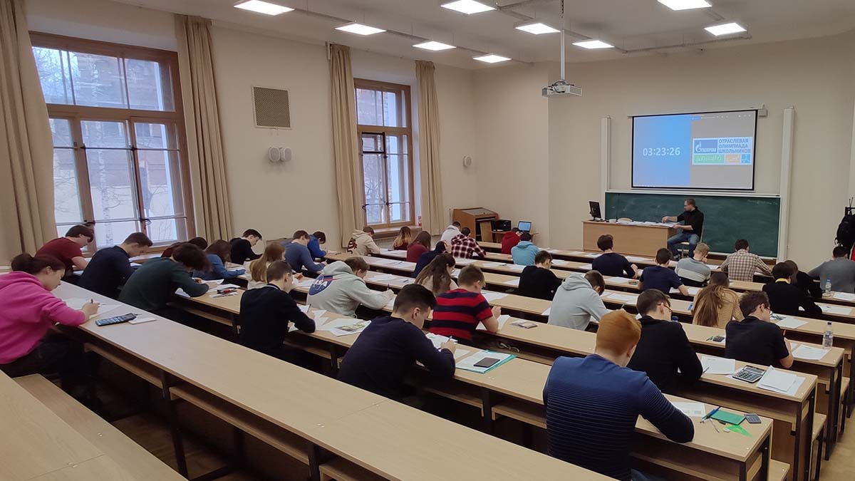 37 ребят со всей России, которые показали лучшие результаты в отборочном туре, приехали в Политех нафинальный этап отраслевой олимпиады Газпрома по физике