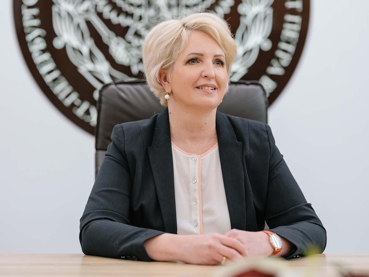 Проректор по образовательной деятельности СПбПУ Елена РАЗИНКИНА отметила, что победа СПбПУ – это результат хорошей командной работы нескольких подразделений вуза