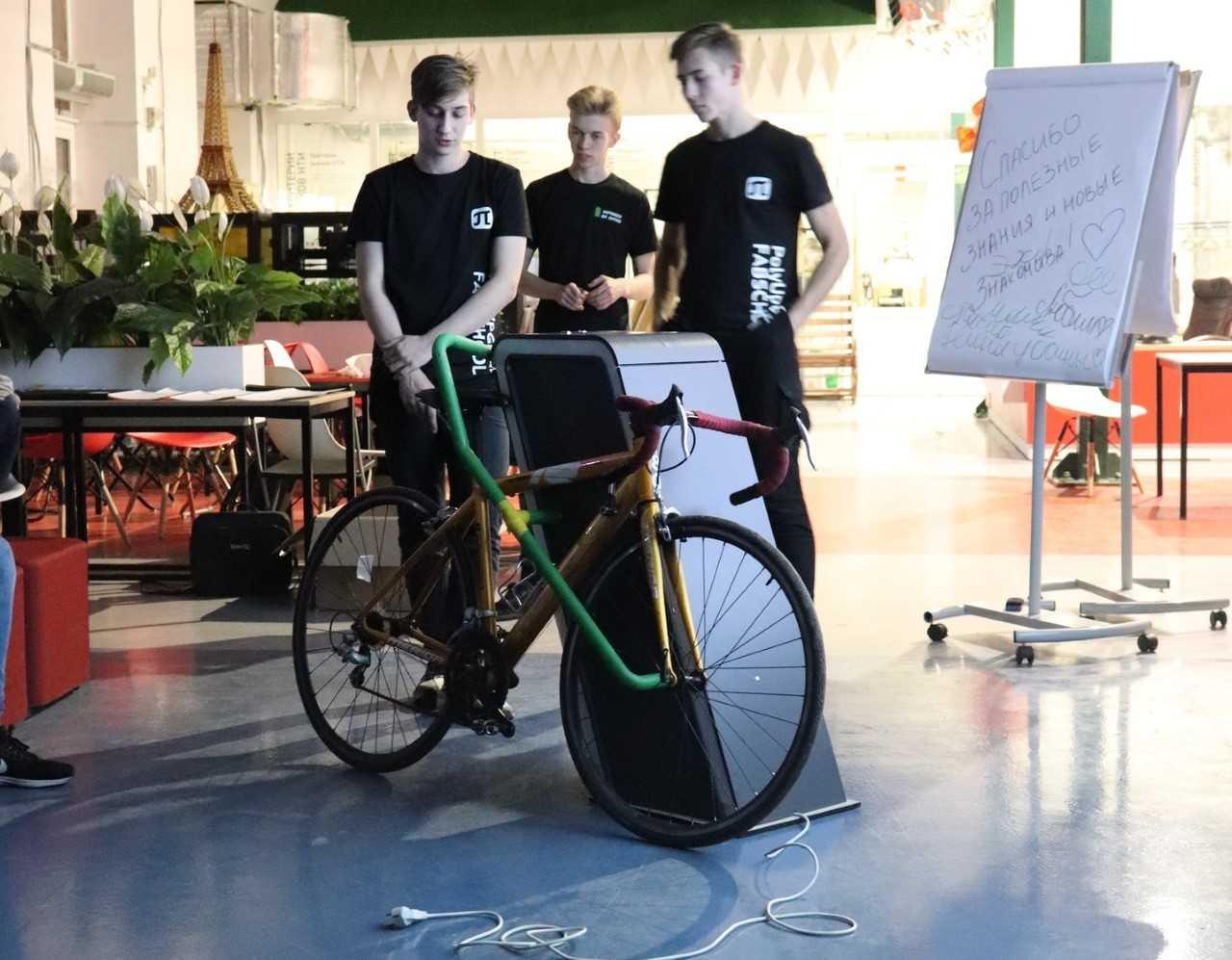 Модульная велопарковка сможет облегчить жизнь велосипедистов Политеха