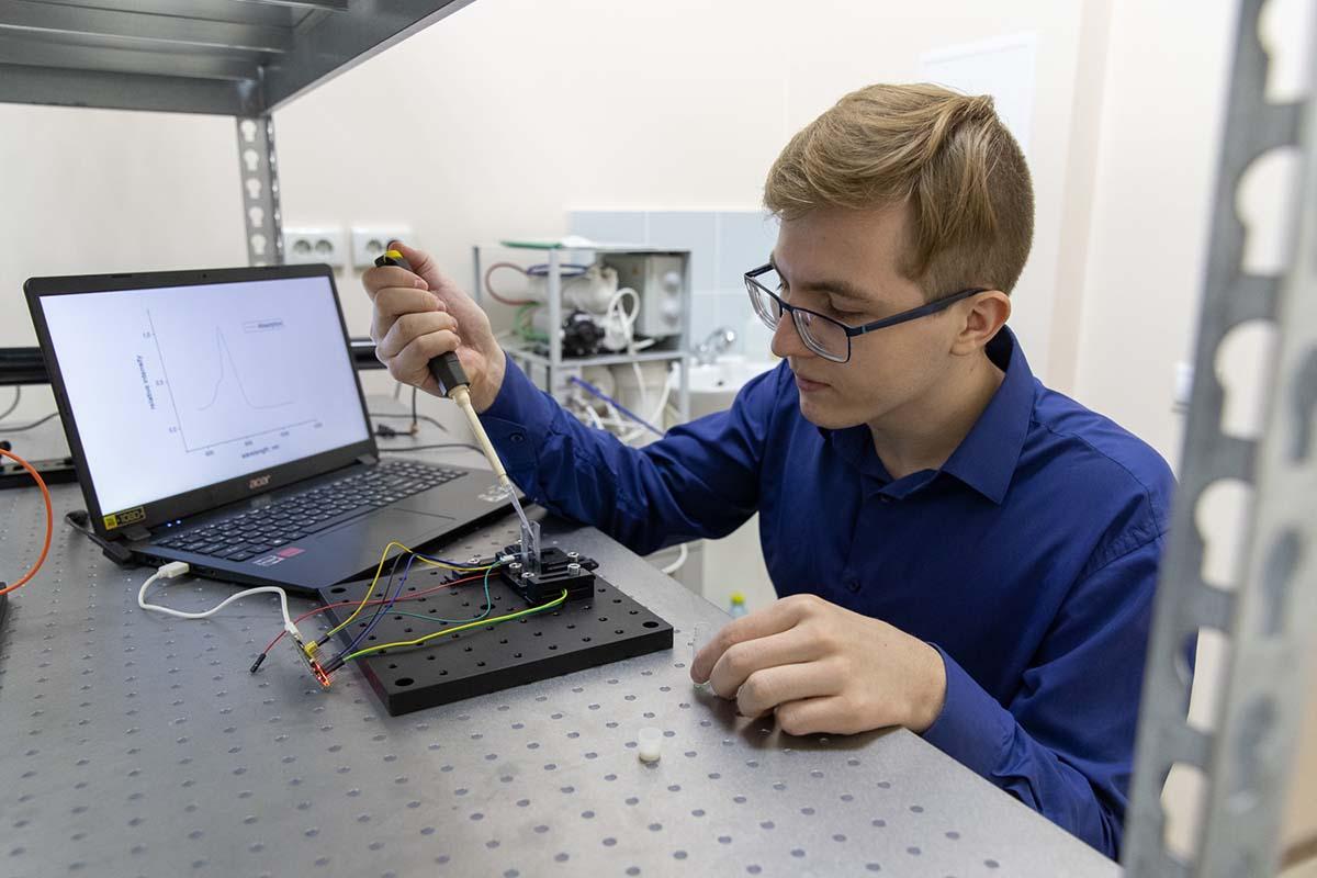 Прибор создан в Высшей школе прикладной физики и космических технологий СПбПУ