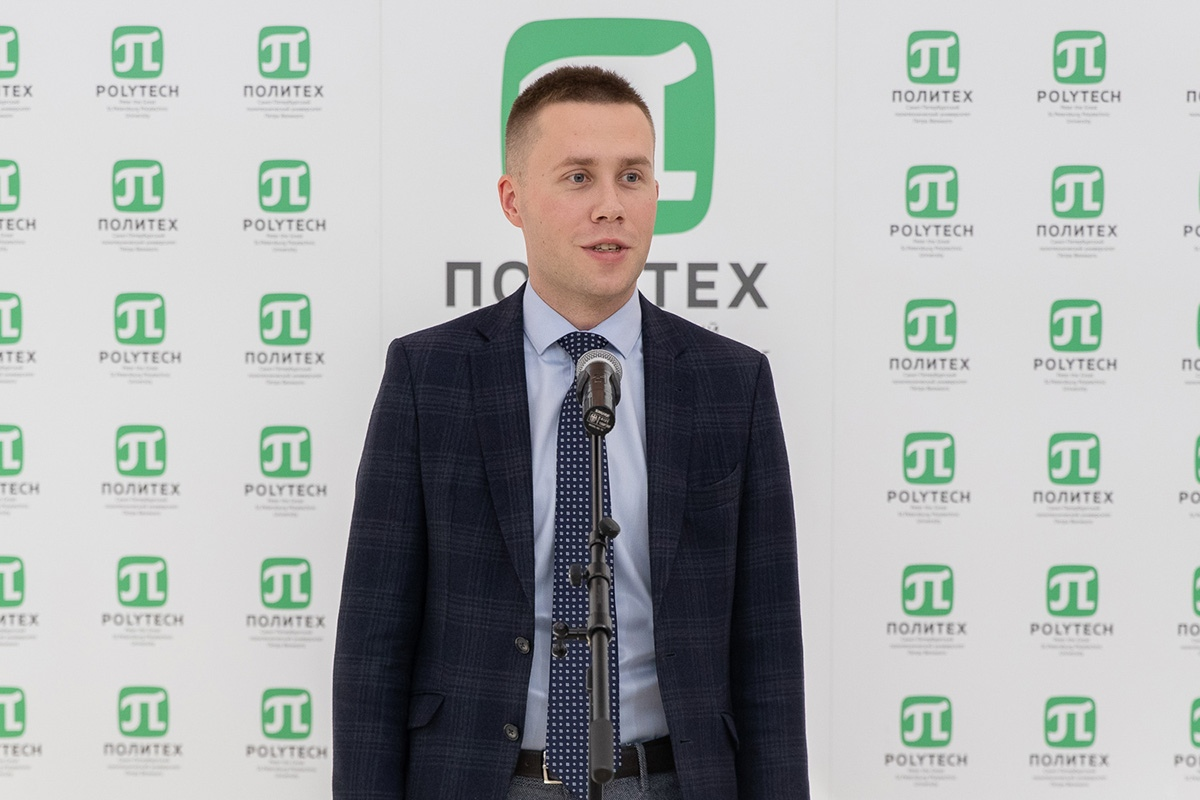 Максим Пашоликов, проректор по информационной и социальной работе СПбПУ