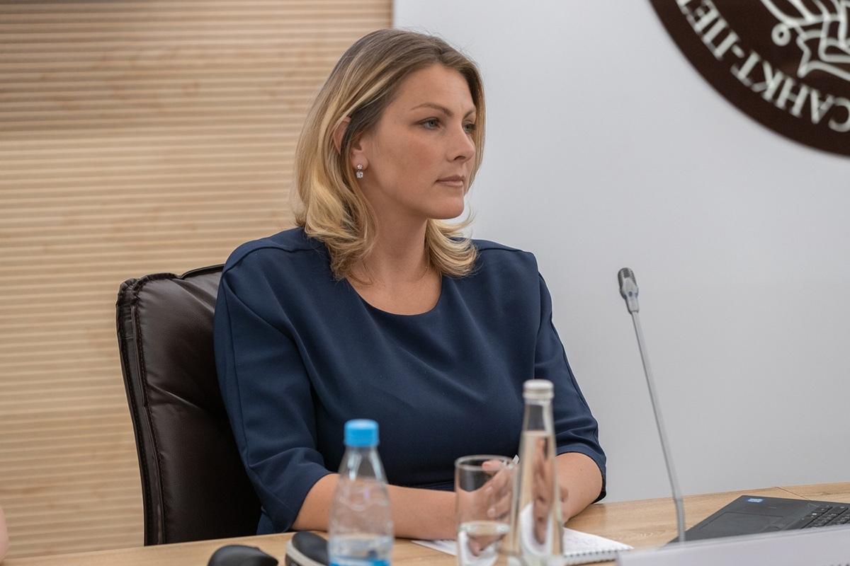 Мария Врублевская, начальник Управления стратегического планирования и программ развития СПбПУ