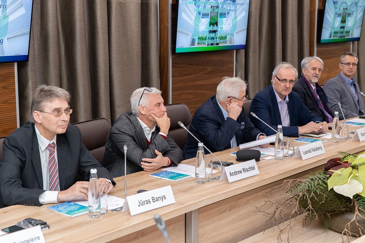 Заседание Международного научного совета СПбПУ