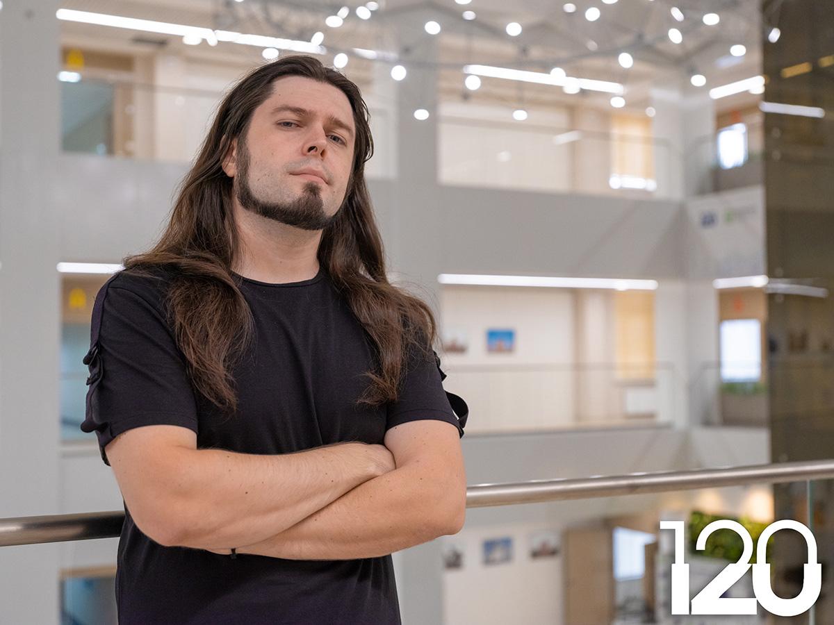 Выпускник энергомашиностроительного факультета Дмитрий Кондрусев